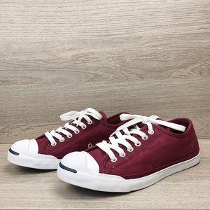 Converse J P Jack Purcell Ox Sneakers Burgundy